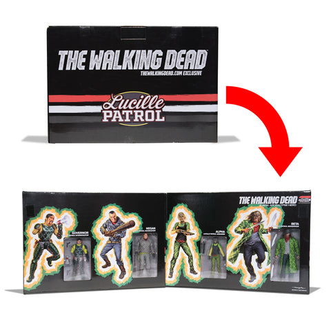 THE WALKING DEAD Lucille Patrol Action Figure Box Set (Regular)