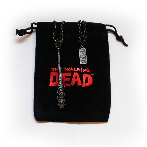 THE WALKING DEAD Lucille Necklace from Han Cholo (Gunmetal Gray)