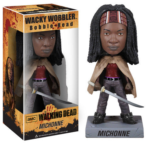 AMC's THE WALKING DEAD Funko! Wacky Wobbler Bobblehead - Michonne