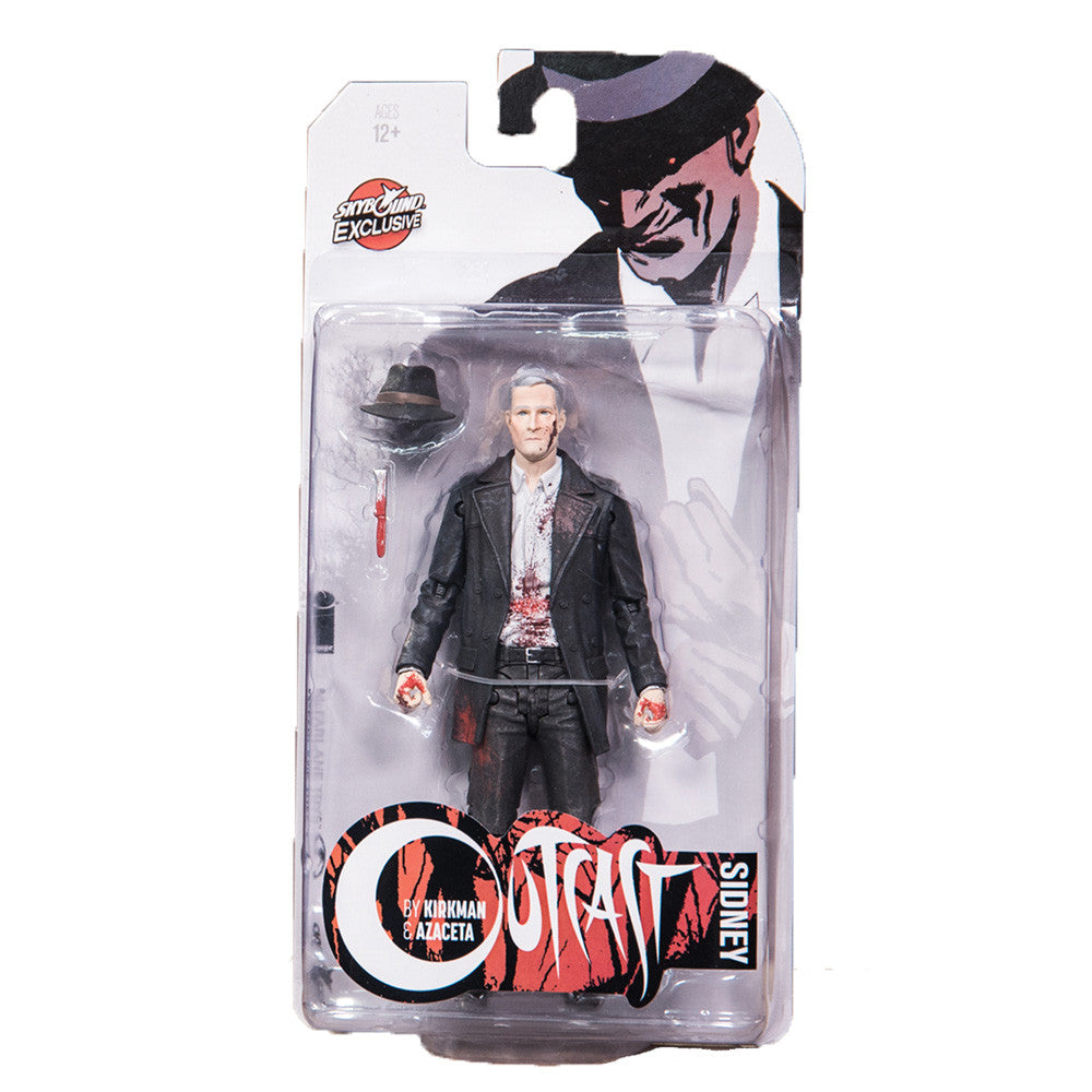 OUTCAST by KIRKMAN & AZACETA: Sidney Action Figure (Bloody Comic Version)