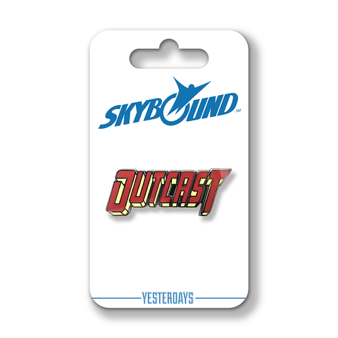 OUTCAST Image 25th Anniversary Homage Logo Pin