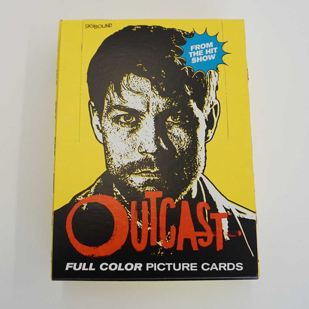 OUTCAST TV Show Wax Pack Trading Cards (24-Pack Box)
