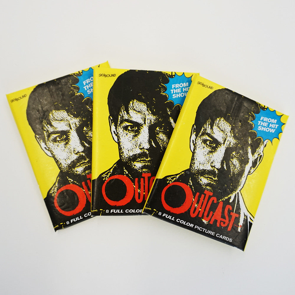 OUTCAST TV Show Wax Pack Trading Cards (Single Pack)
