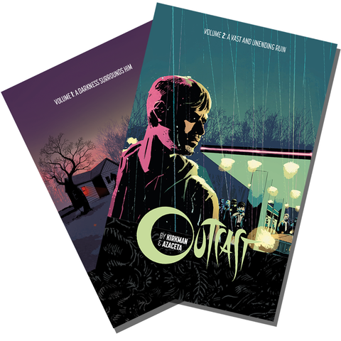 OUTCAST by KIRKMAN & AZACETA Volumes 1 & 2 Bundle