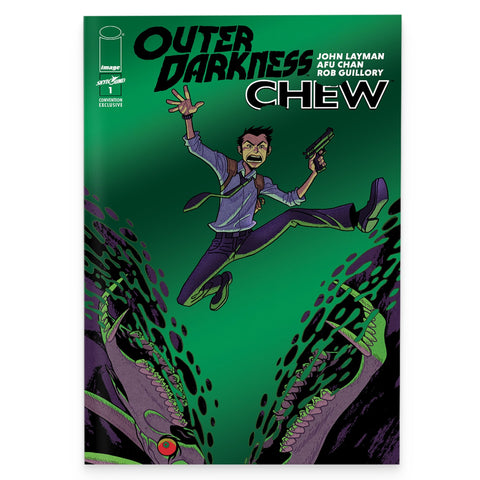 Outer Darkness/Chew – Vol 1 (Convention Exclusive Foil Cover)