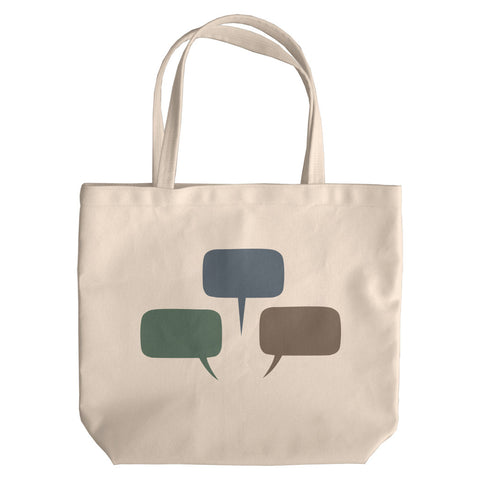 Talk Bubbles Tote