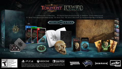 Planescape: Torment & Icewind Dale Enhanced Edition Collector's Pack  - Pre-Order