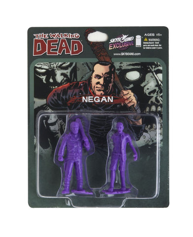 THE WALKING DEAD - Negan PVC Figure (Purple)