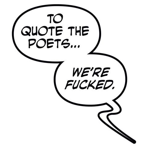 "MONSTRESS ""To Quote the Poets"" Pin"