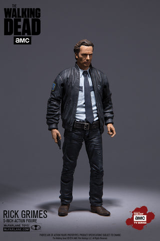 AMC's THE WALKING DEAD TV Series 10 Rick Exclusive - Action Figure