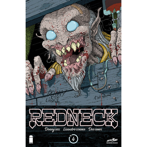REDNECK #4 SDCC 2017 Variant by Nick Pitarra-SPECIAL