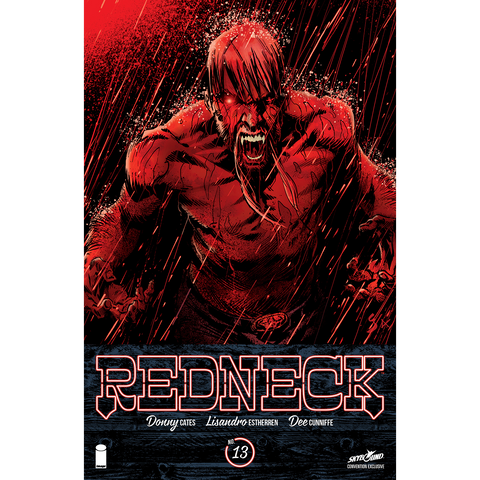 REDNECK #13 Convention Comic Book  Variant