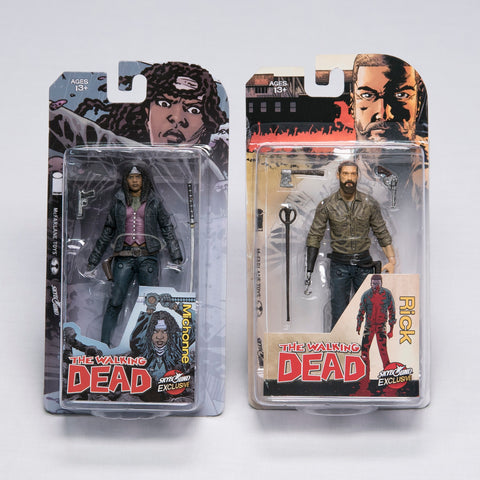 THE WALKING DEAD Teammates Bundle - Rick Grimes & Michonne (Color)