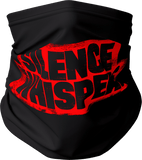 Silence The Whispers - Black with Red Mask