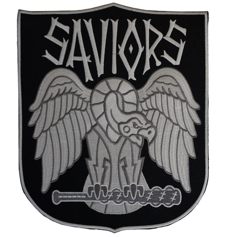 "THE WALKING DEAD - Saviors Faction 10"" Patch"