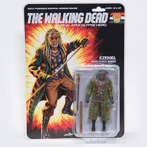 THE WALKING DEAD Shiva Force - Ezekiel (Bloody) Action Figure