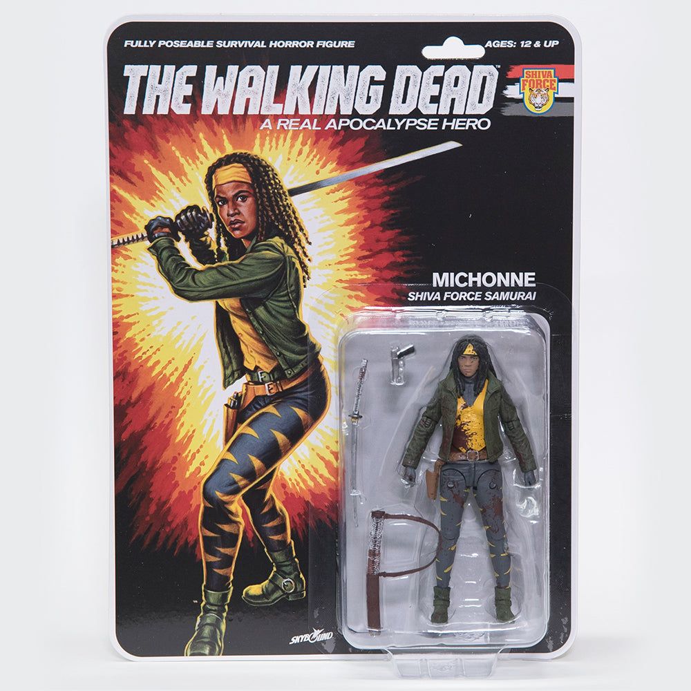 THE WALKING DEAD Shiva Force - Michonne (Bloody) Action Figure