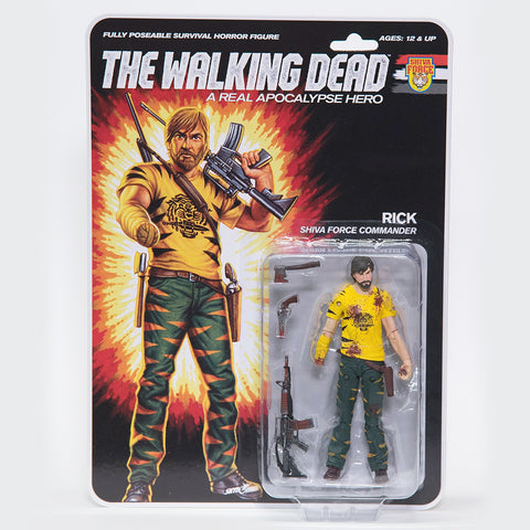 THE WALKING DEAD Shiva Force - Rick (Bloody) Action Figure