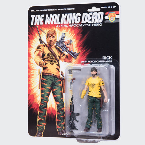 THE WALKING DEAD Shiva Force - Rick Action Figure