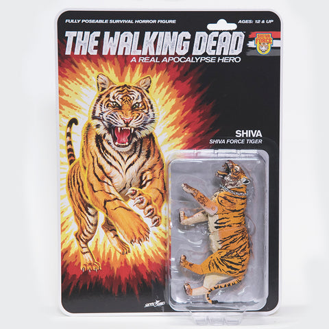 THE WALKING DEAD Shiva Force - Shiva (Bloody) Action Figure