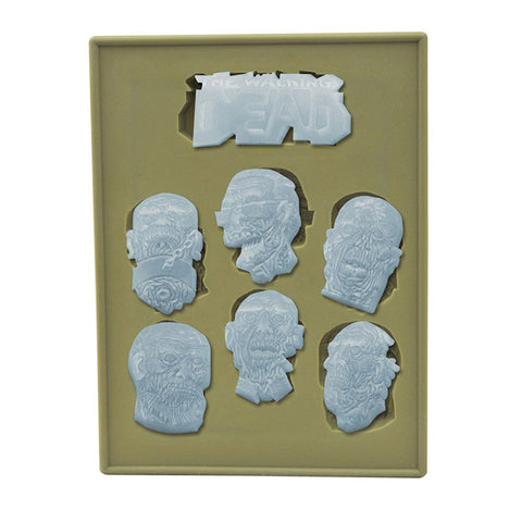 THE WALKING DEAD Zombie Heads Silicone Tray