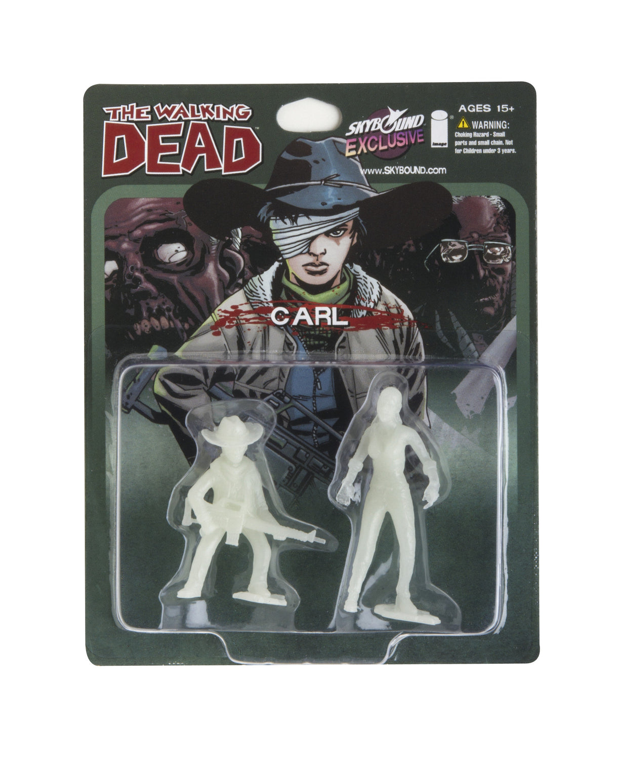 THE WALKING DEAD - Carl PVC Figure (Glow in the Dark)
