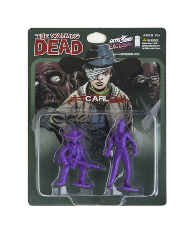 THE WALKING DEAD - Carl PVC Figure (Purple)