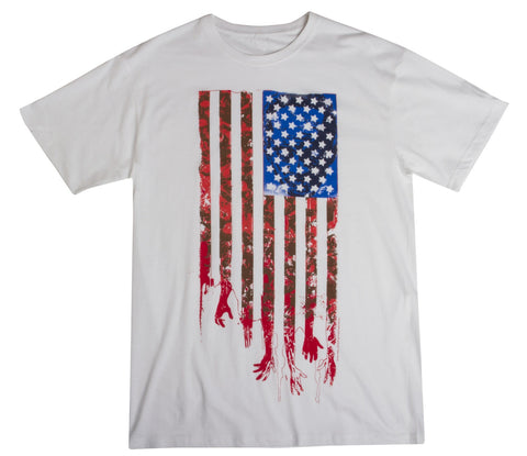 "THE WALKING DEAD ""Flag"" T-Shirt (Men's)"