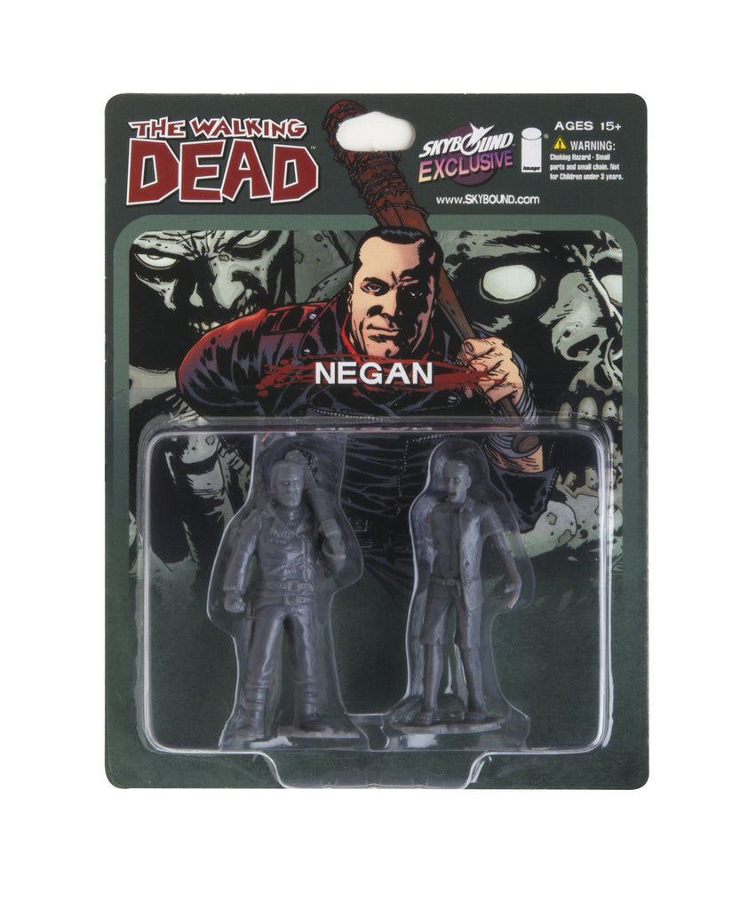 THE WALKING DEAD - Negan PVC Figure (Grey)