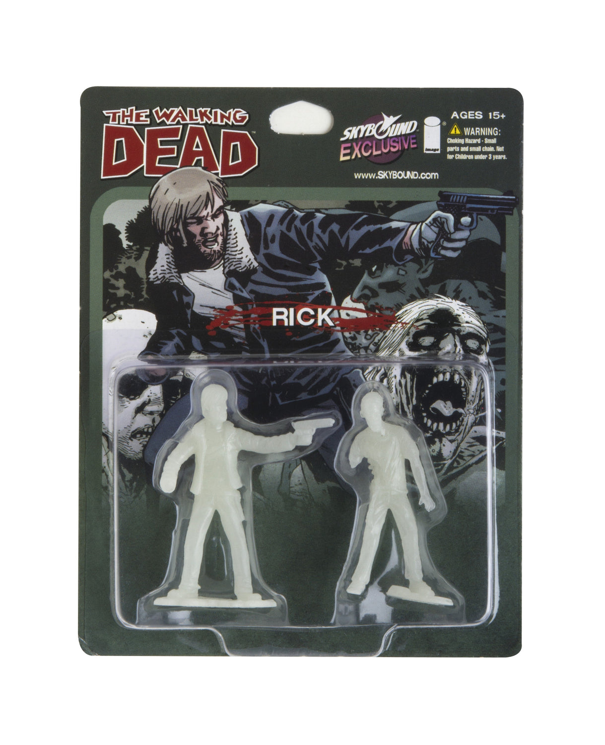 THE WALKING DEAD - Rick PVC Figure (Glow in the Dark)
