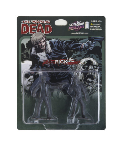 THE WALKING DEAD - Rick PVC Figure (Grey)