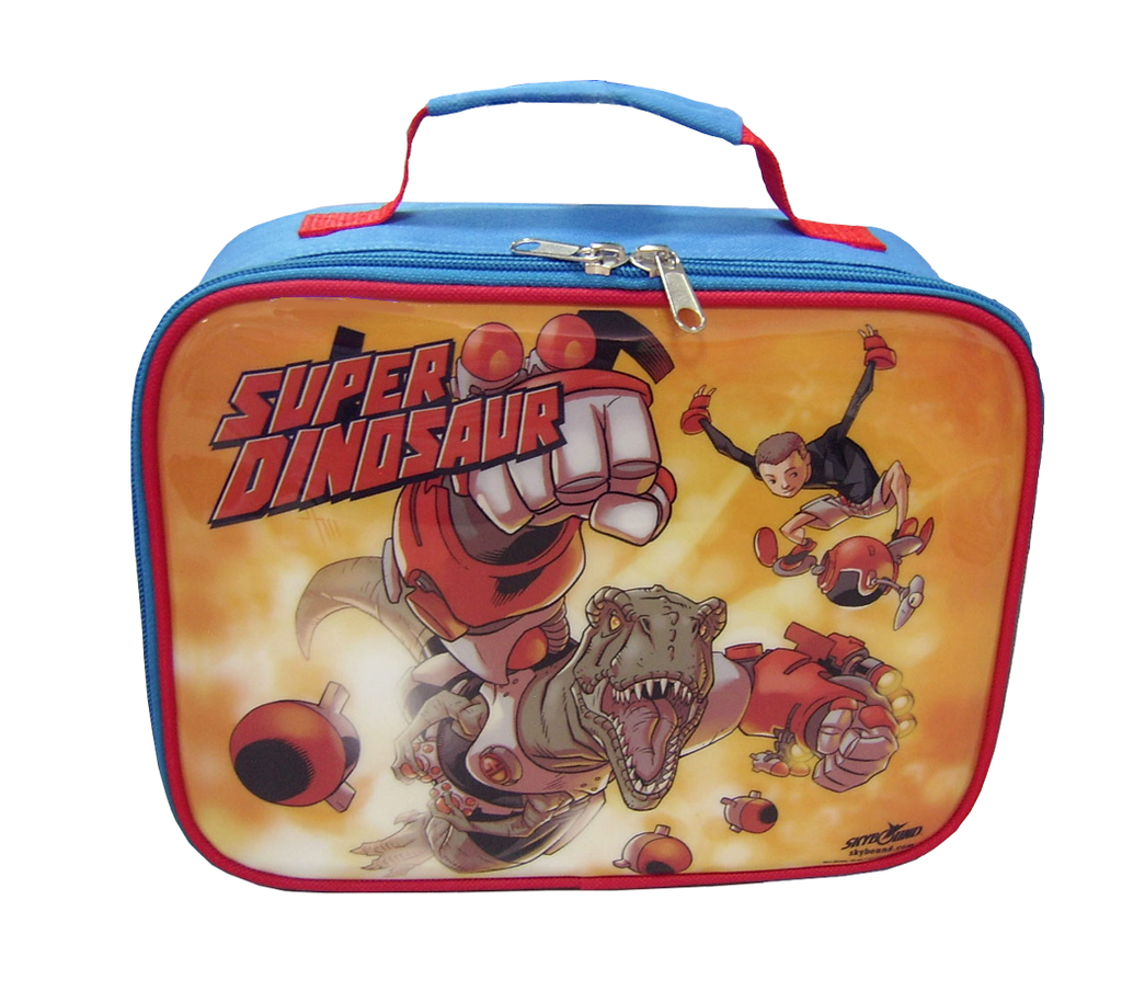 SUPER DINOSAUR LUNCH BOX