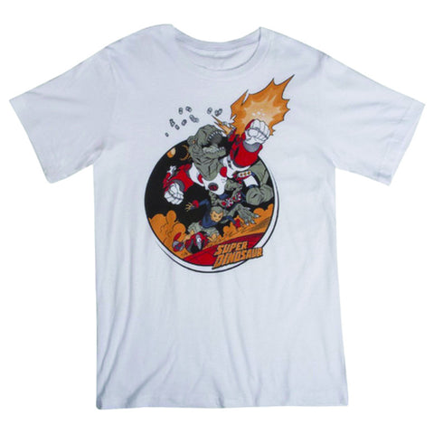 SUPER DINOSAUR T-Shirt (White)