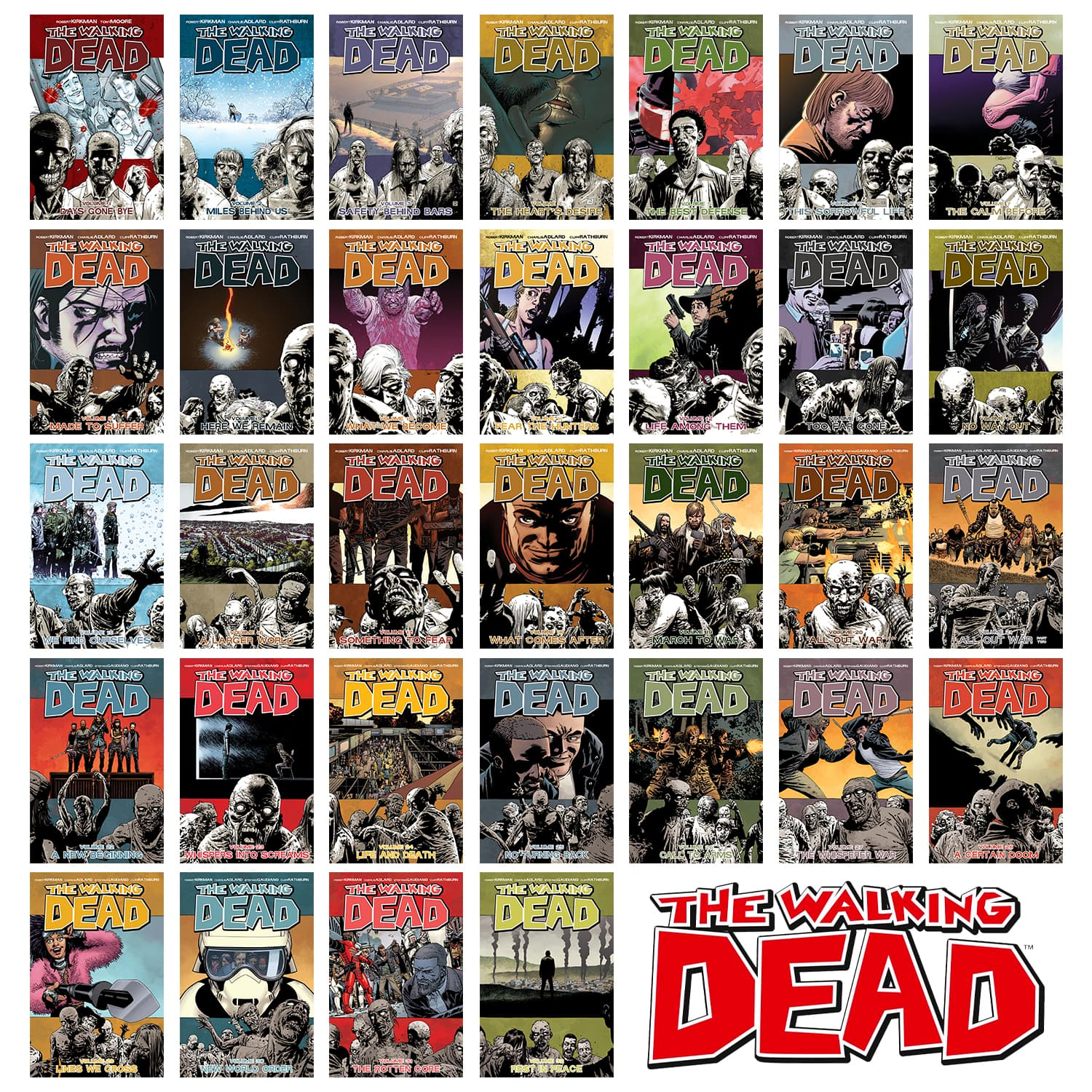 The Walking Dead Complete Series Trade Bundle