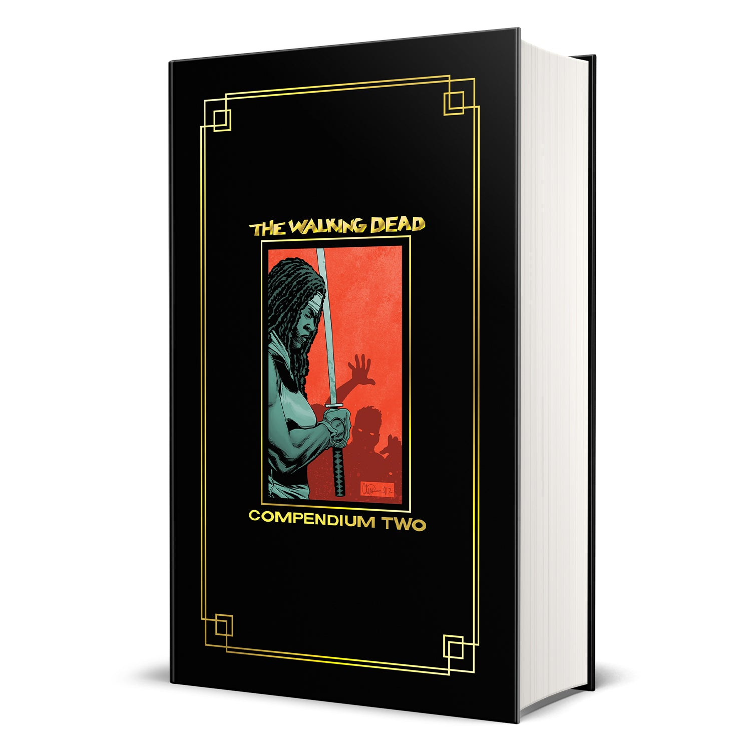 THE WALKING DEAD: Compendium 2 Hardcover (Gold Foil Version)