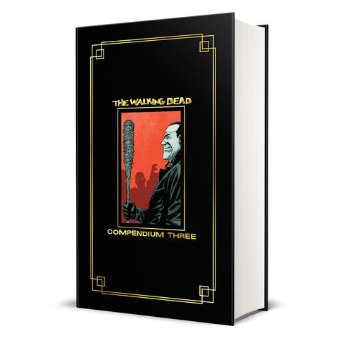 THE WALKING DEAD: Compendium 3 Hardcover (Gold Foil Version)
