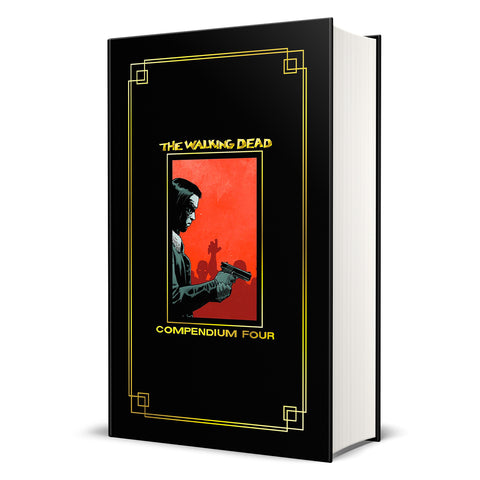THE WALKING DEAD: Compendium 4 Hardcover (Gold Foil Version)