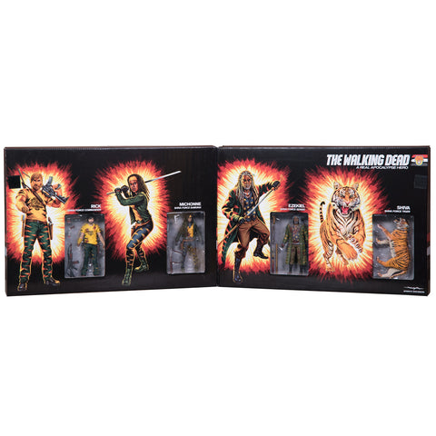 THE WALKING DEAD Shiva Force Action Figure Box Set (Bloody)