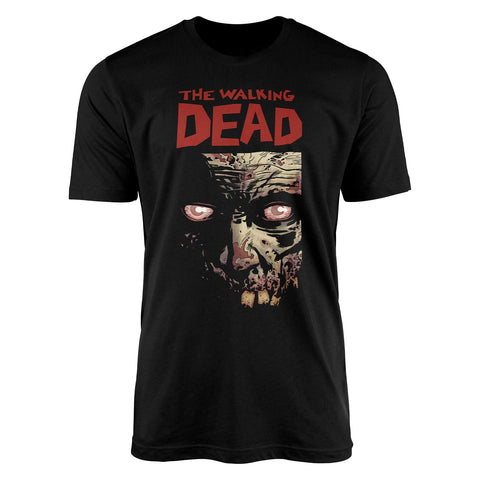 The Walking Dead - Walker Face - Logo T-Shirt