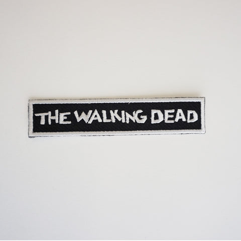 THE WALKING DEAD Logo Patch
