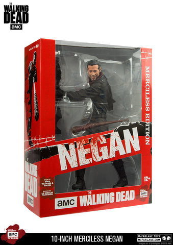 "AMC's THE WALKING DEAD Negan 10"" Merciless Edition - Deluxe Action Figure"
