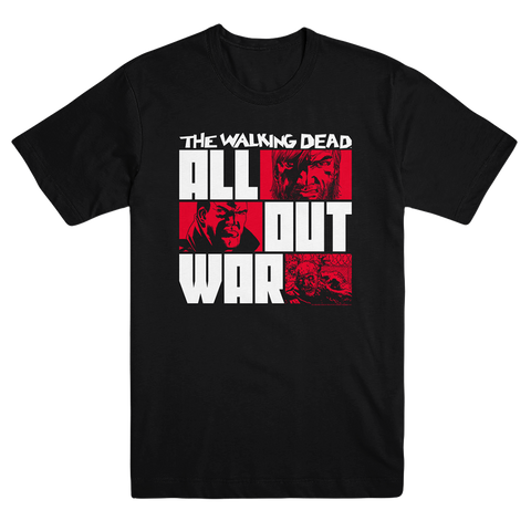 "THE WALKING DEAD ""All Out War"" T-Shirt"