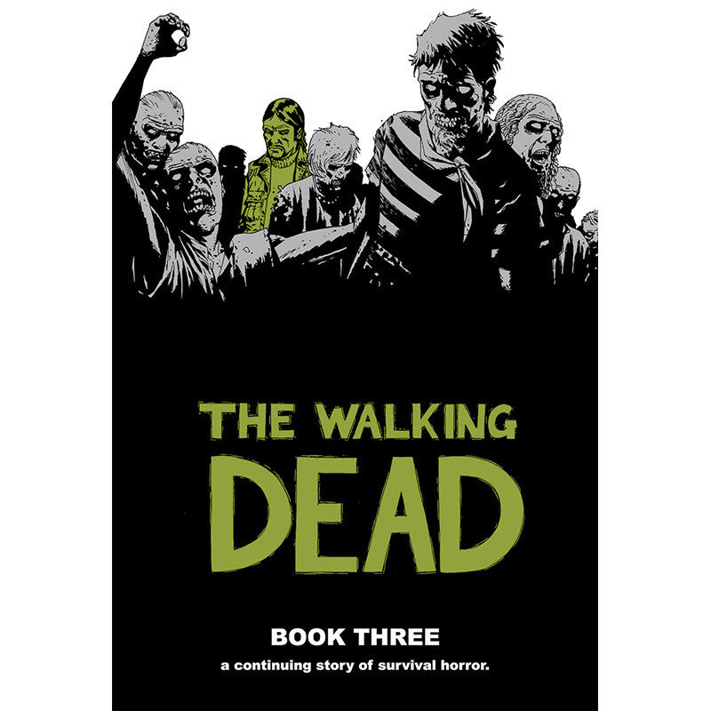 THE WALKING DEAD: Book 03 Hardcover | Issues #25-36