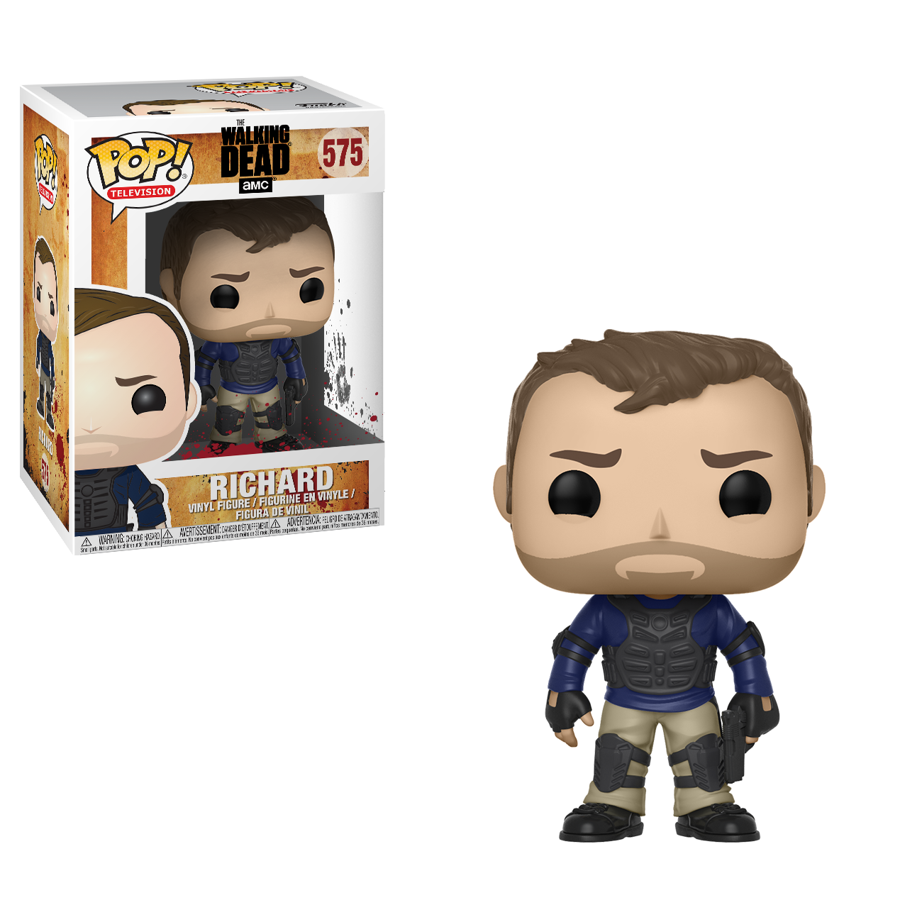 AMC's The Walking Dead Funko Pop! - Richard