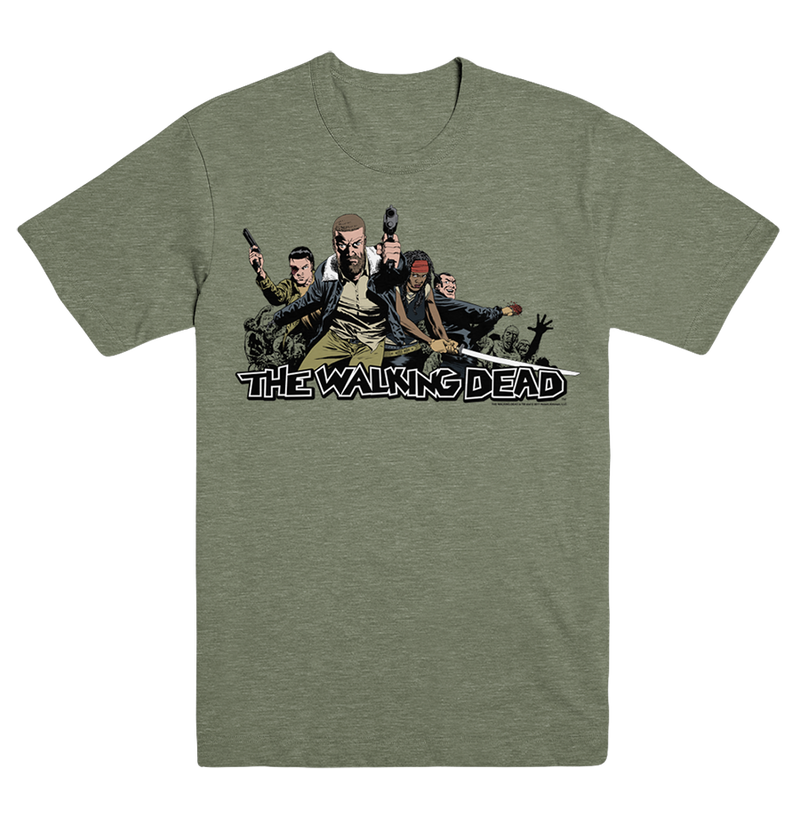 THE WALKING DEAD: Ensemble T-Shirt