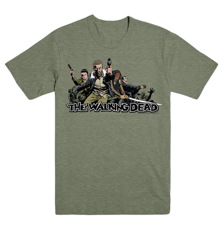 THE WALKING DEAD 2017 Ensemble T-Shirt