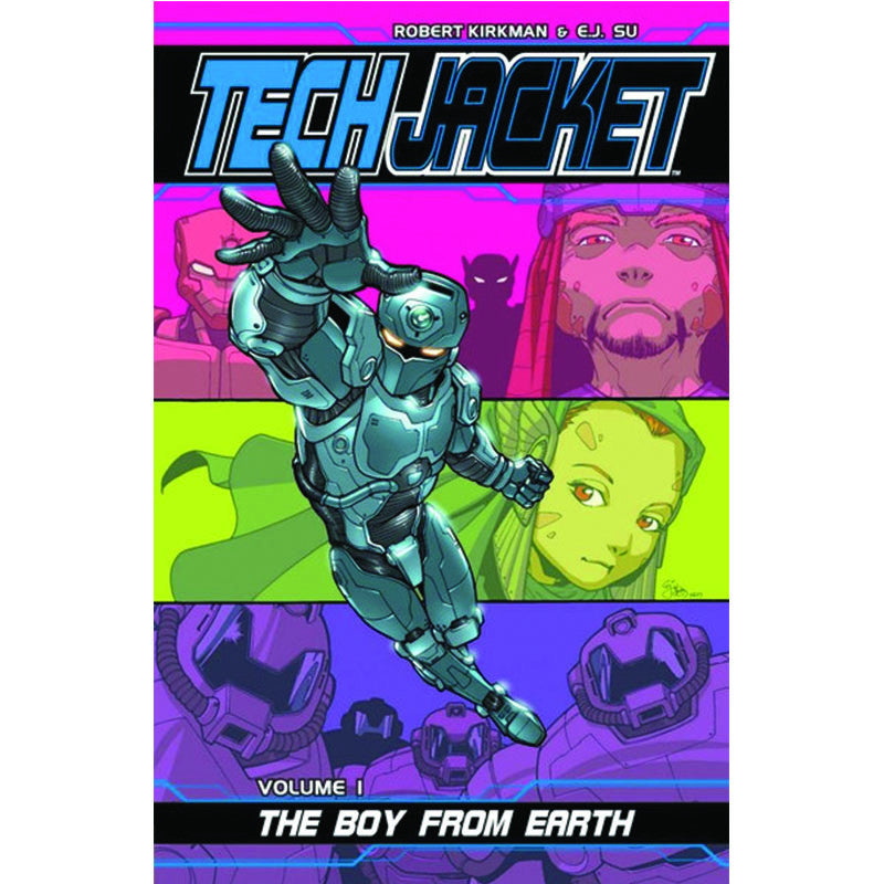 "TECH JACKET Volume 1 - ""The Boy from Earth"""