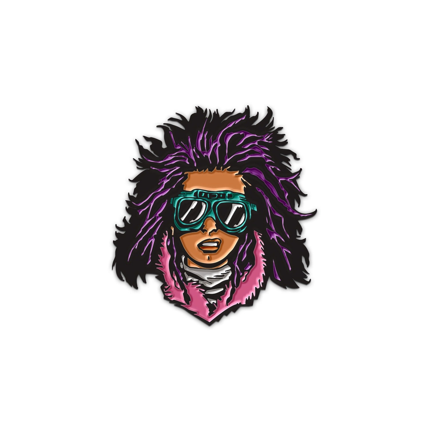 "THE WALKING DEAD Juanita ""Princess"" Face Pin"