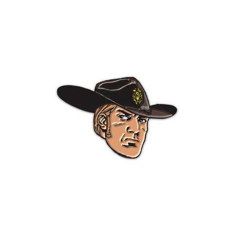 THE WALKING DEAD Young Rick Face Pin
