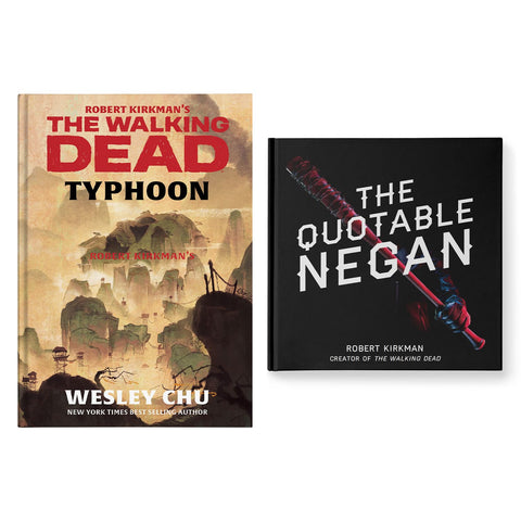 "Skybound Books TWD Bundle: ""THE QUOTABLE NEGAN"" & TYPHOON"
